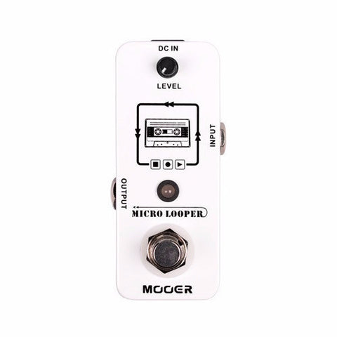 Mooer Audio Micro Looper Loop Pedal