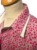 Ladies Floral Print Cotton Shirt