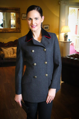 Lady Mary Double breasted swingback Jacket British made