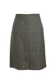 Tweed Skirt Back