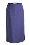 Holly | Long Slim Blueberry Style Skirt