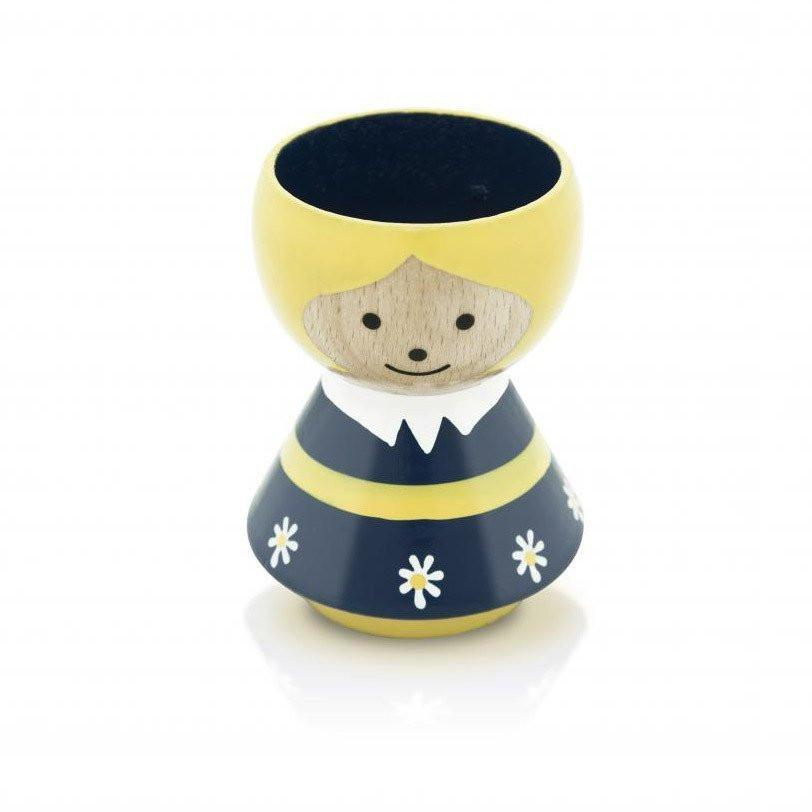 Bordfolk Danish Egg Cups-Kitchen & Dining-Lucie Kaas-Blue Girl-Brassica Mercantile