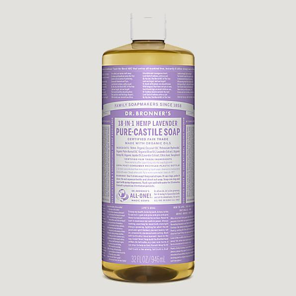 Dr. Bronner's Liquid Soaps-Home Accessories-Queenswood-Lavender-946ml-Brassica Mercantile