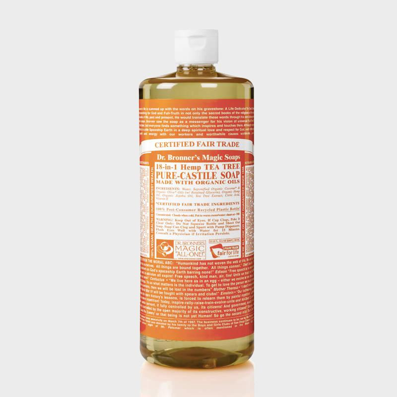 Dr. Bronner's Liquid Soaps-Home Accessories-Queenswood-Tea Tree-946ml-Brassica Mercantile