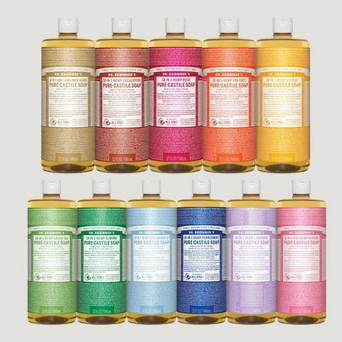Dr. Bronner's Liquid Soaps-Home Accessories-Queenswood-Brassica Mercantile