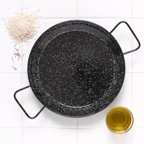 Enamelled Paella Pans-Kitchen & Dining-Brindisa-Brassica Mercantile