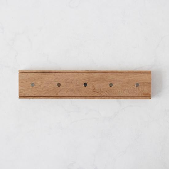 Oak Magnetic Knife Rack-Storage & Baskets-Creamore Mill-Brassica Mercantile