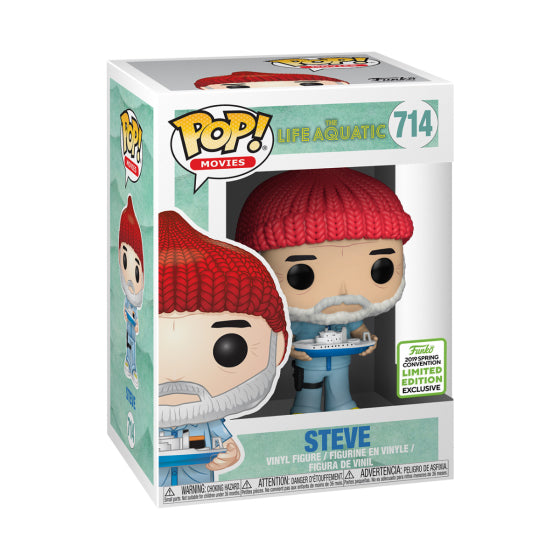 Steve Zissou Vinyl Figure Life Aquatic With Steve Zissou