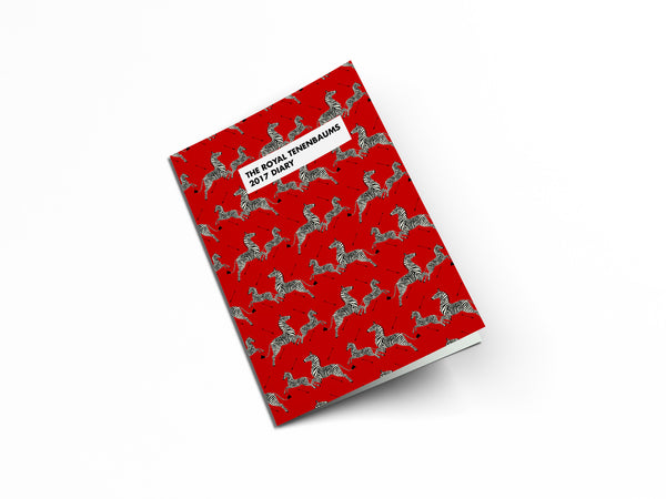 The Royal Tenenbaums 2017 Diary Limited Edition - Wes-Anderson.com