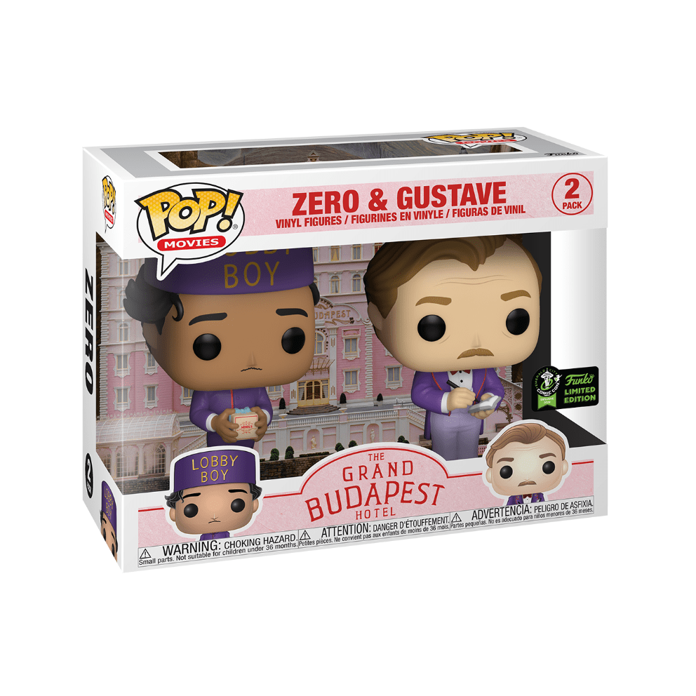 Zero & Gustave Vinyl Figure The Grand Budapest Hotel