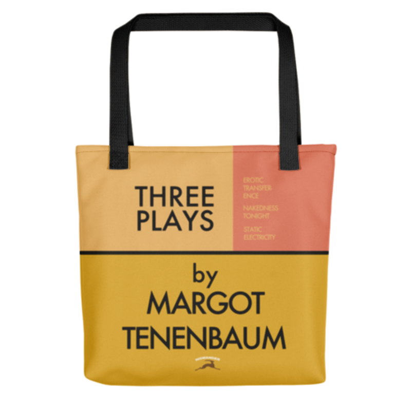 Three Plays By Margot Tenenbaum Bag