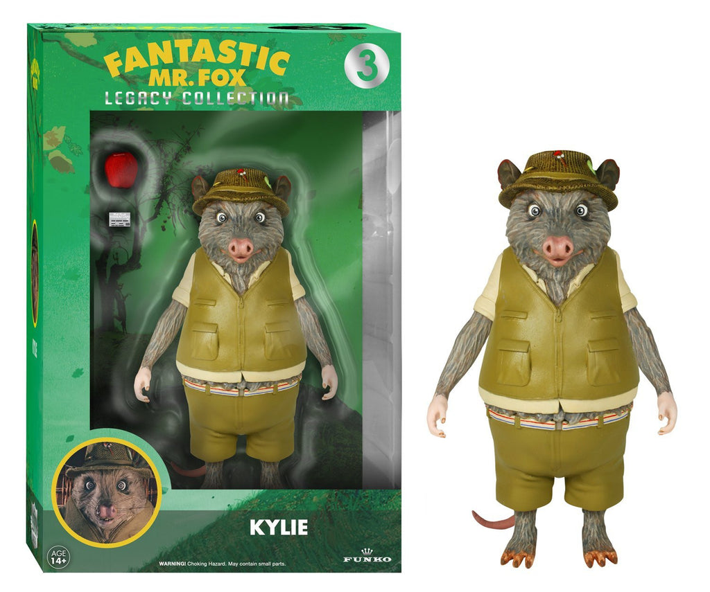 "Fantastic Mr. Fox Funko Legacy 6"" Action Figure Kylie - Wes-Anderson.com"