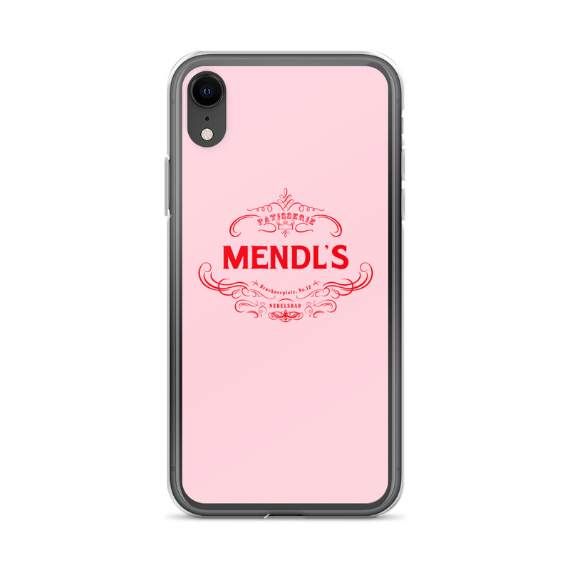 Mendl's Patisserie Phone Case Grand Budapest Hotel
