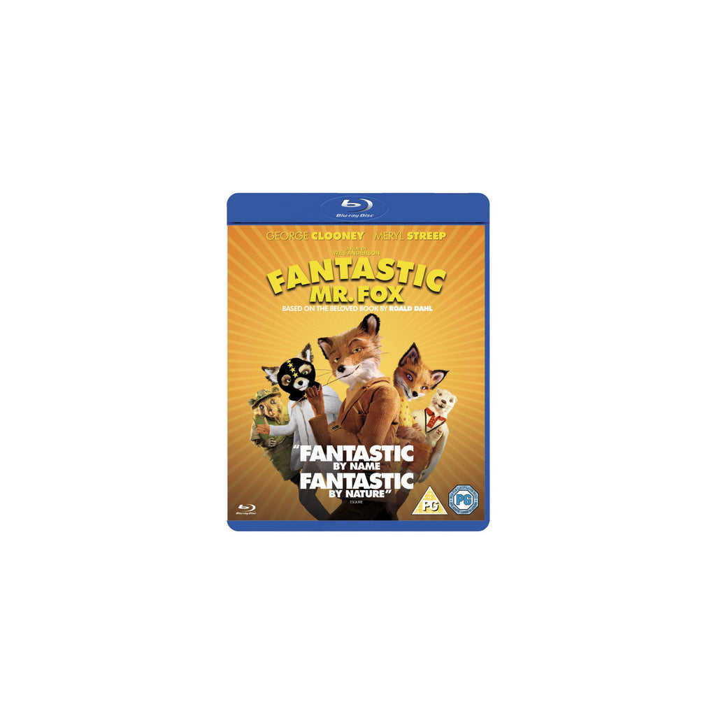 Fantastic Mr. Fox DVD Blu Ray Wes Anderson - Wes-Anderson.com