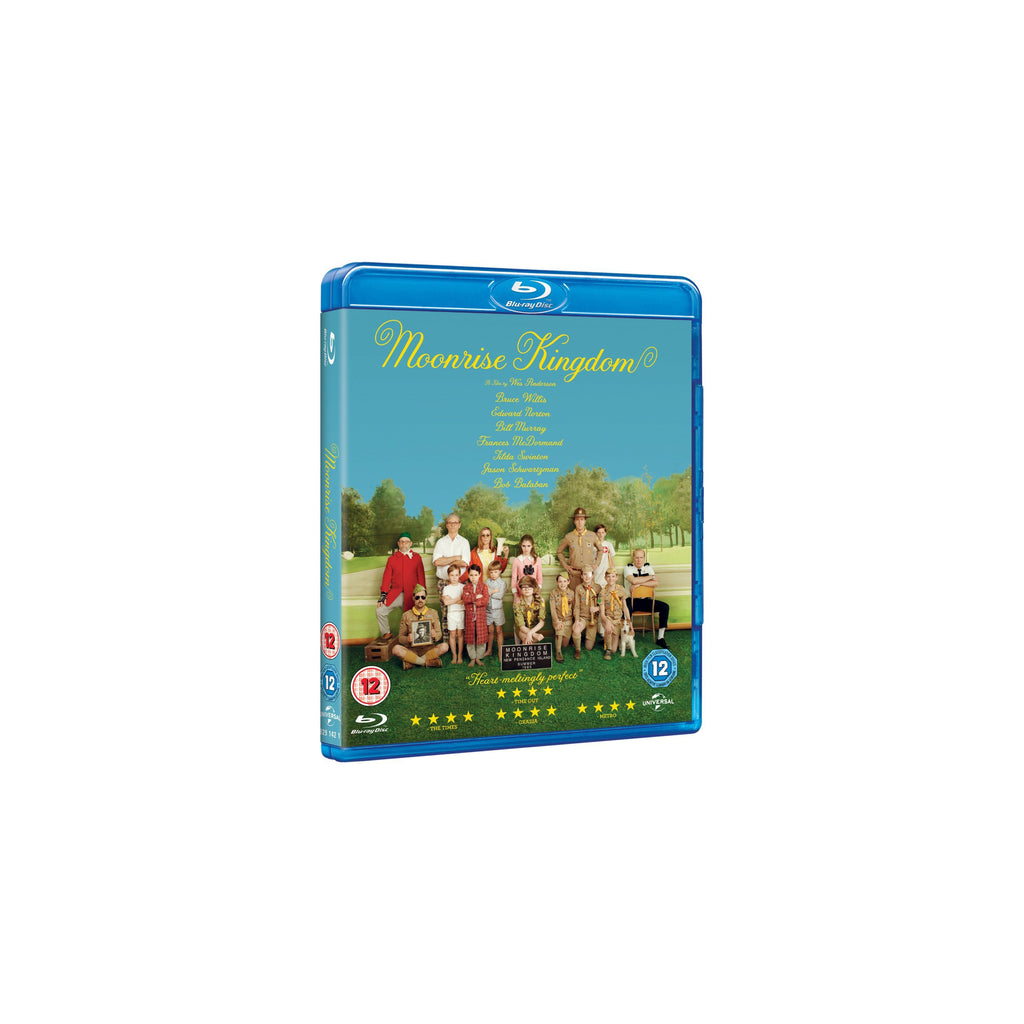Moonrise Kingdom Blu Ray DVD Wes Anderson - Wes-Anderson.com