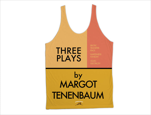 Three Plays By Margot Tenenbaum All-Over Tank Royal Tenenbaums - Wes-Anderson.com