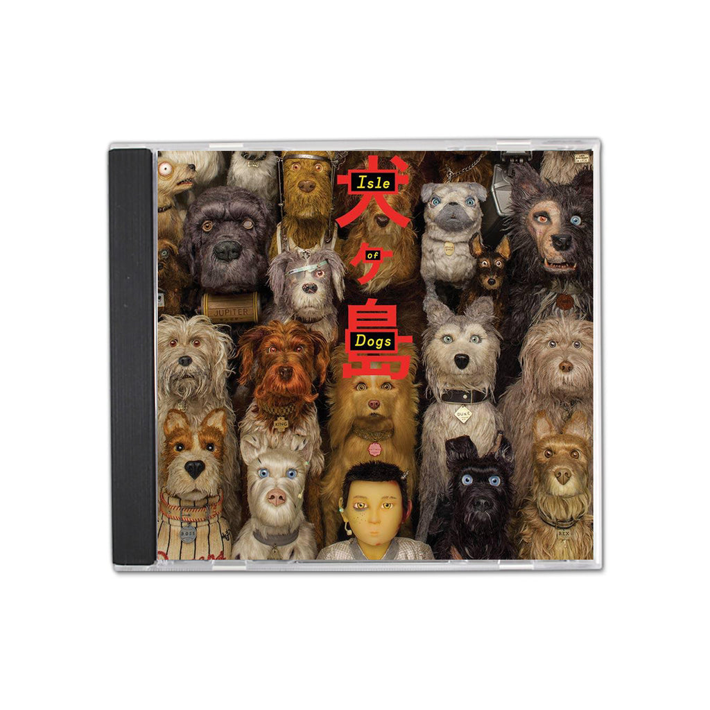 Isle Of Dogs Soundtrack CD