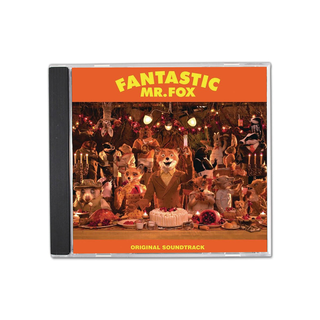 Fantastic Mr. Fox Original Soundtrack CD Wes Anderson
