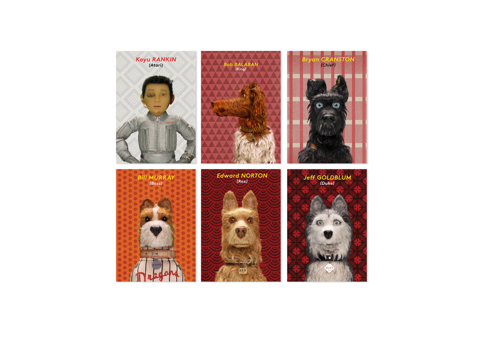 Isle Of Dogs Cards Set