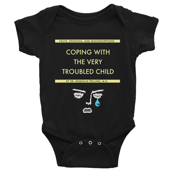 Coping With The Very Troubled Child Infant Baby Rib Short Sleeve - Wes-Anderson.com