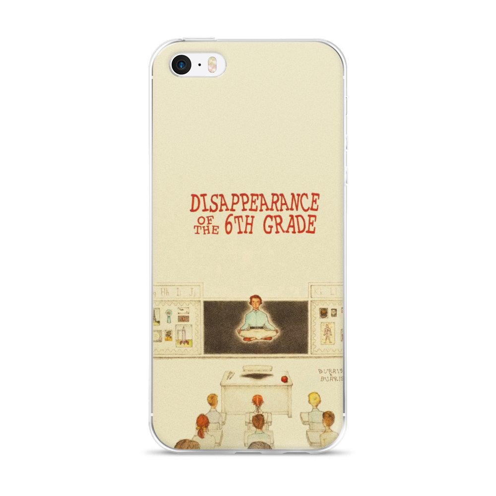 Disappearance Of The 6th Grade iPhone Case Moonrise Kingdom - Wes-Anderson.com  - 2