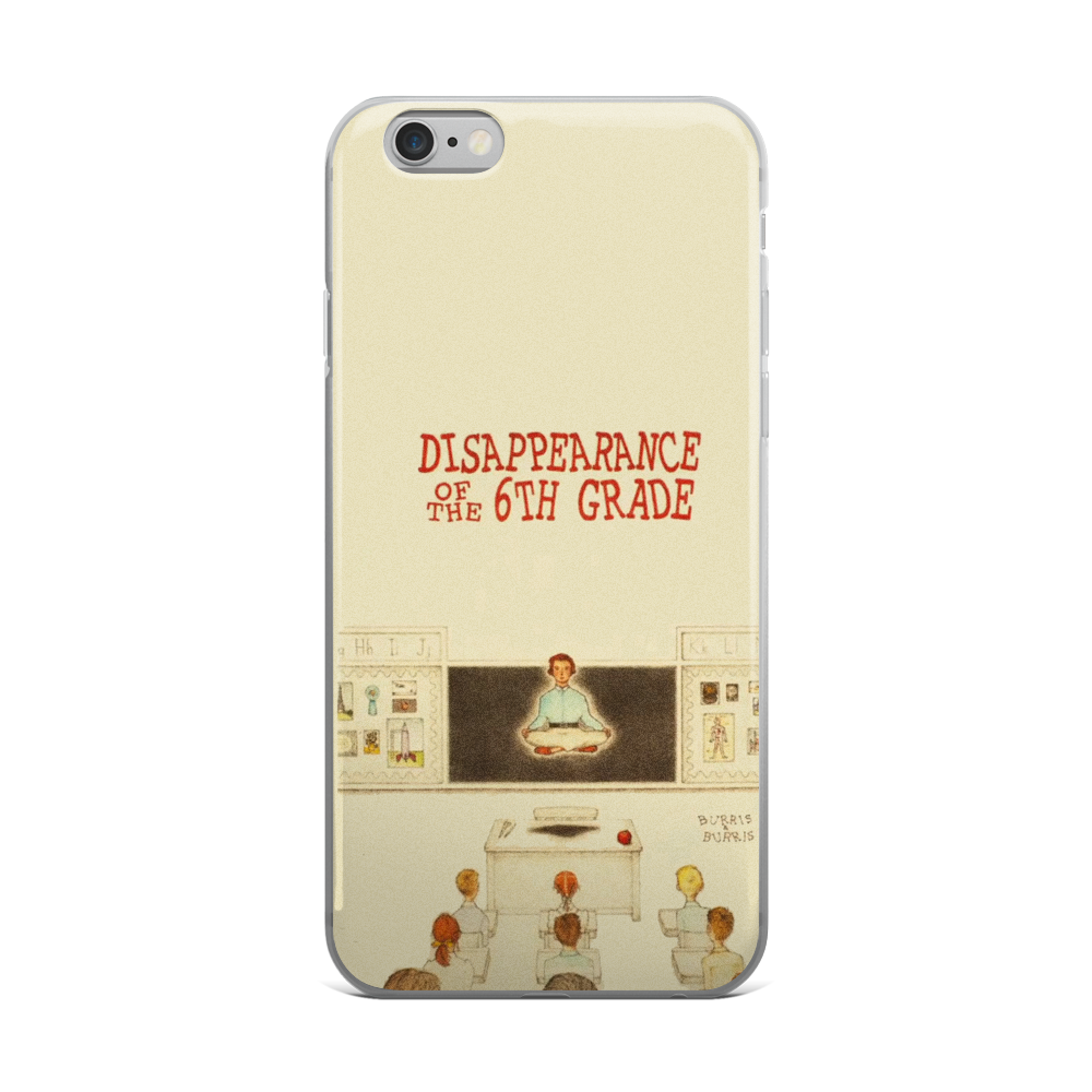 Disappearance Of The 6th Grade iPhone Case Moonrise Kingdom - Wes-Anderson.com  - 1
