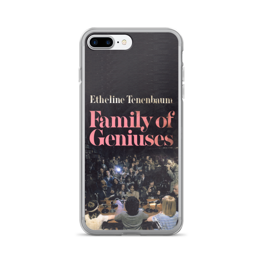 Family Of Geniuses iPhone Case The Royal Tenenbaums - Wes-Anderson.com  - 3