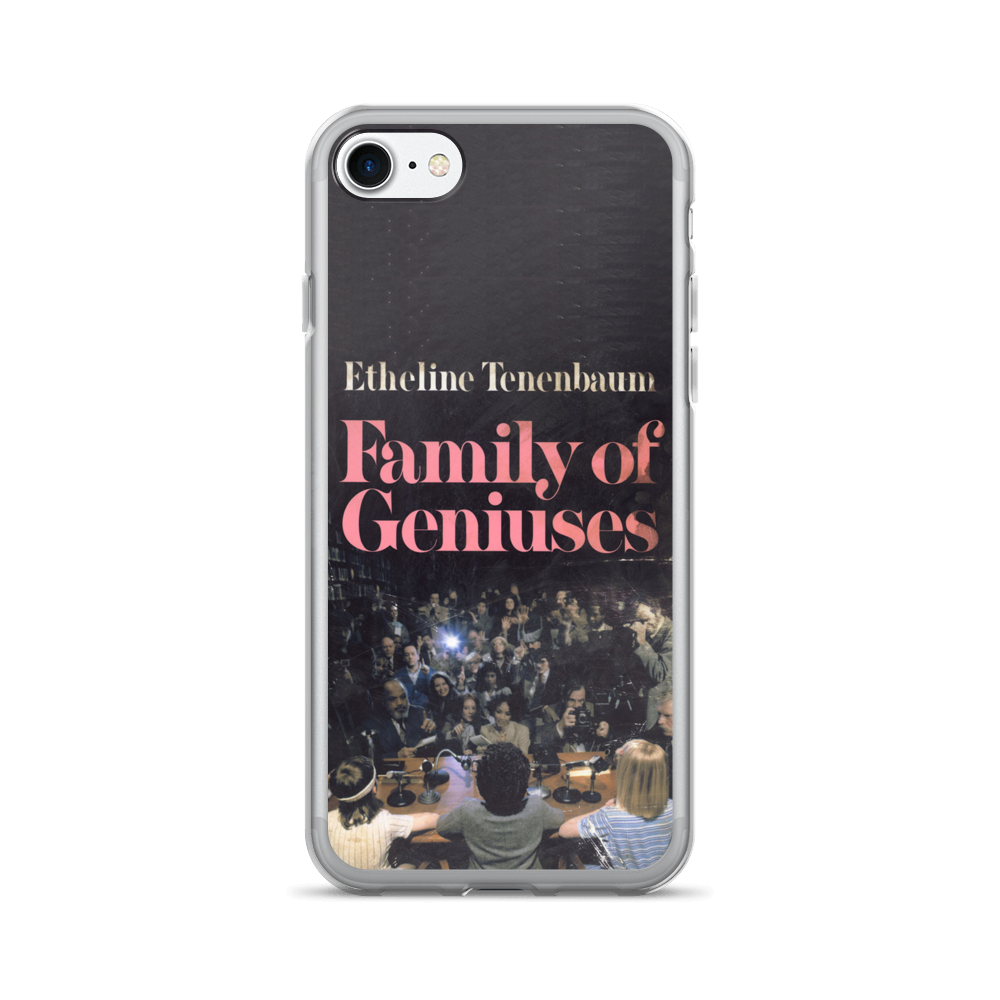 Family Of Geniuses iPhone Case The Royal Tenenbaums - Wes-Anderson.com  - 4