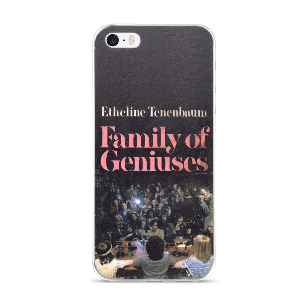 Family Of Geniuses iPhone Case The Royal Tenenbaums - Wes-Anderson.com  - 2