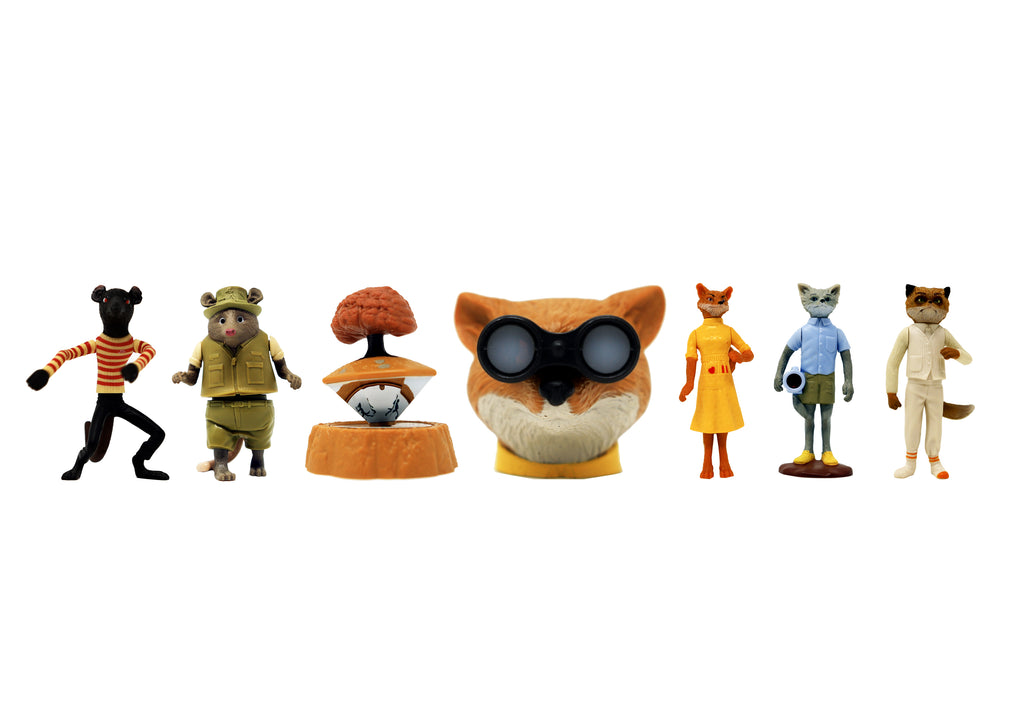 Fantastic Mr. Fox Happy Meals McDonalds Toys