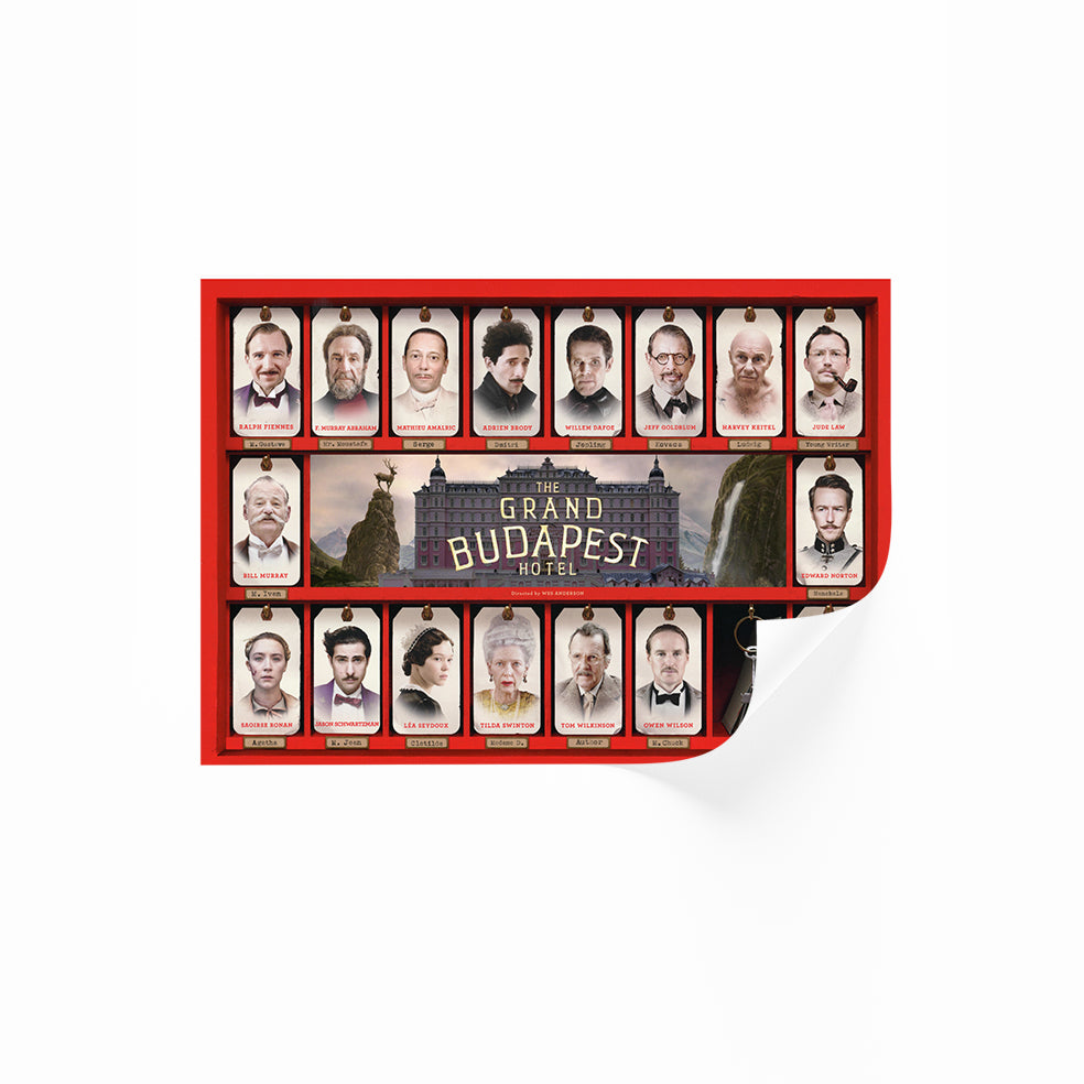 The Grand Budapest Hotel Horizontal Poster