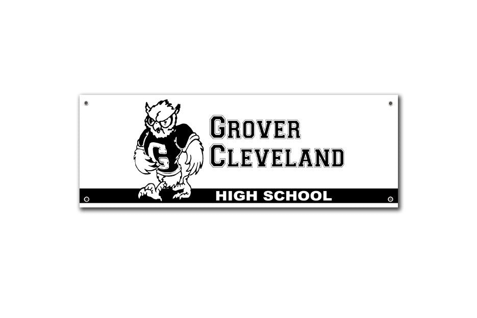 Grover Cleveland High School Banner Rushmore - Wes-Anderson.com  - 1