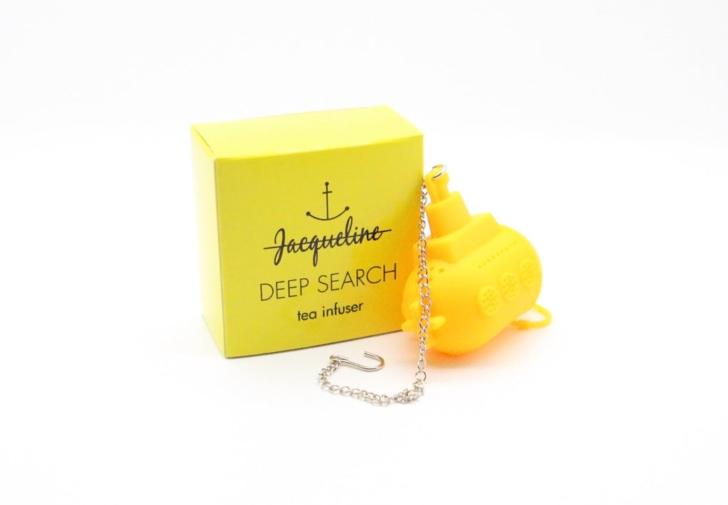 Jacqueline Deep Search Tea Infuser The Life Aquatic With Steve Zissou - Wes-Anderson.com