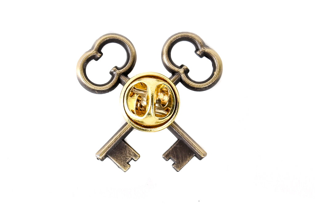 The Society Of Crossed Keys Pin Grand Budapest Hotel