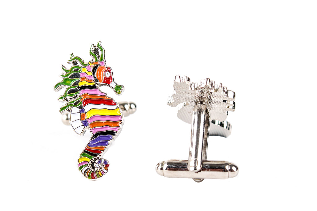 Crayon Ponyfish Cufflinks The Life Aquatic With Steve Zissou