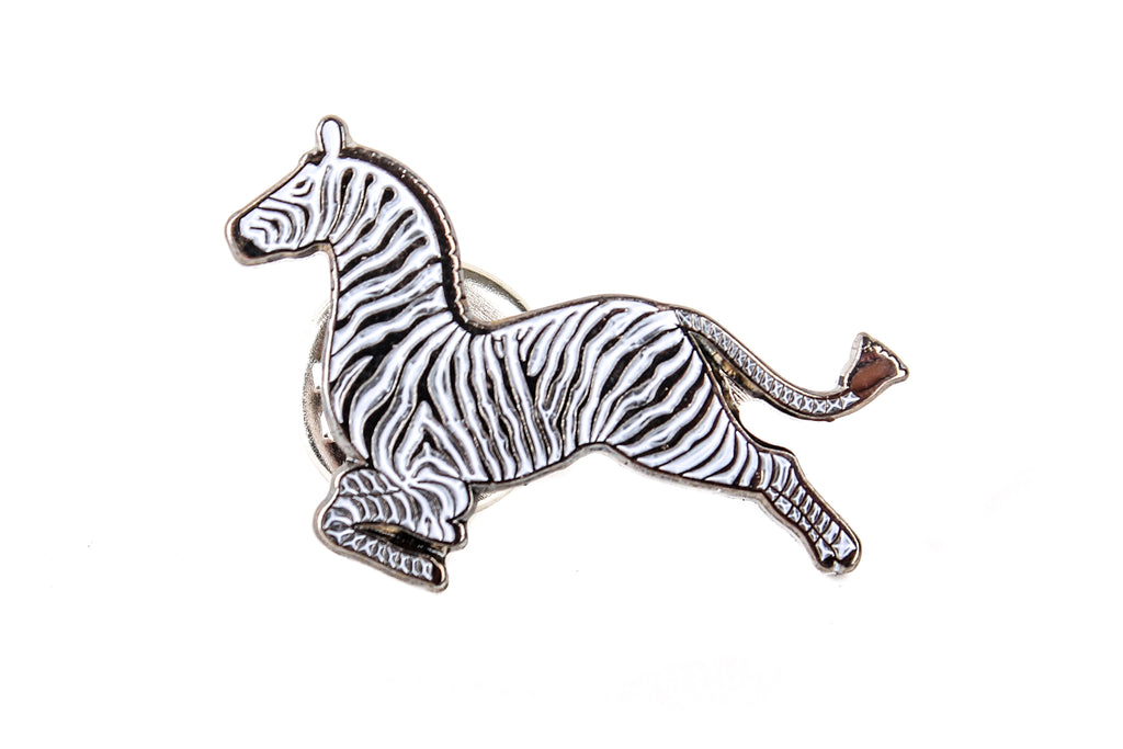 Zebras Pin Badge The Royal Tenenbaums