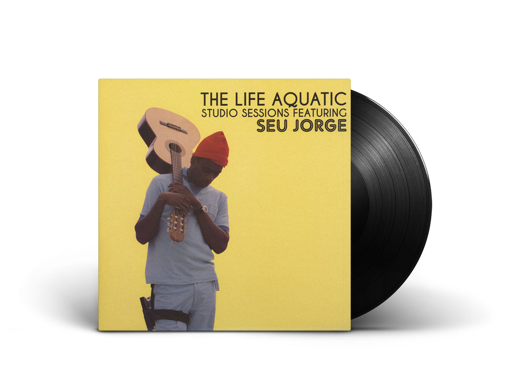 The Life Aquatic Studio Sessions Seu Jorge LP 2 Vinyl Wes Anderson Soundtrack