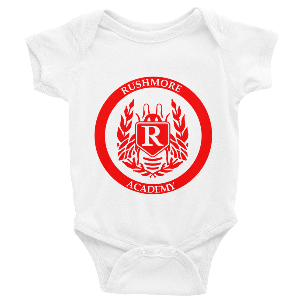 Rushmore Academy Infant Baby Rib Short Sleeve - Wes-Anderson.com