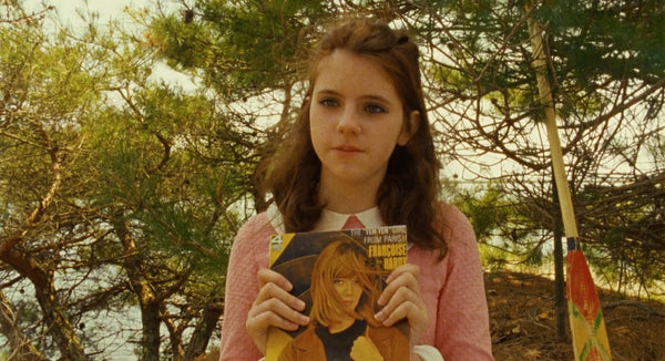 The Yeh-Yeh Girl From Paris! Vintage Vinyl LP Francoise Hardy Moonrise Kingdom - Wes-Anderson.com  - 2