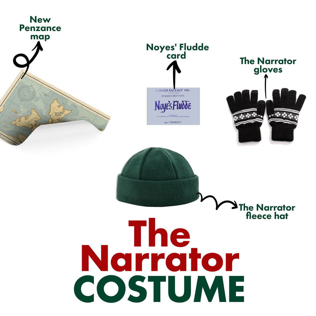 The Narrator Costume Moonrise Kingdom
