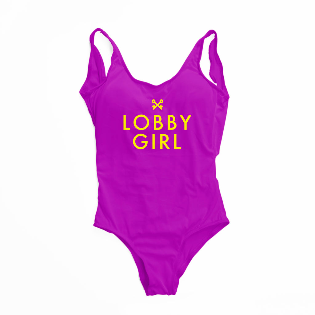 Lobby Girl One-Piece Swimsuit