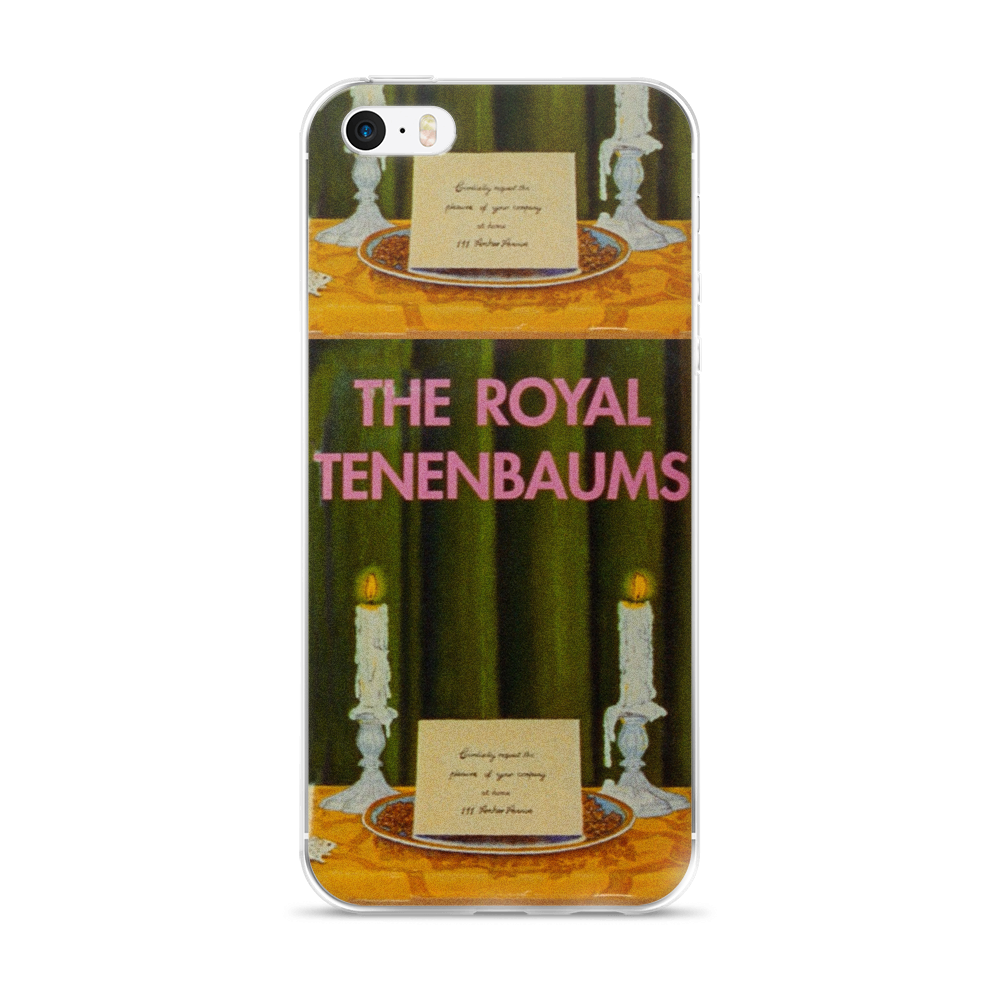 The Royal Tenenbaums iPhone Case - Wes-Anderson.com  - 2
