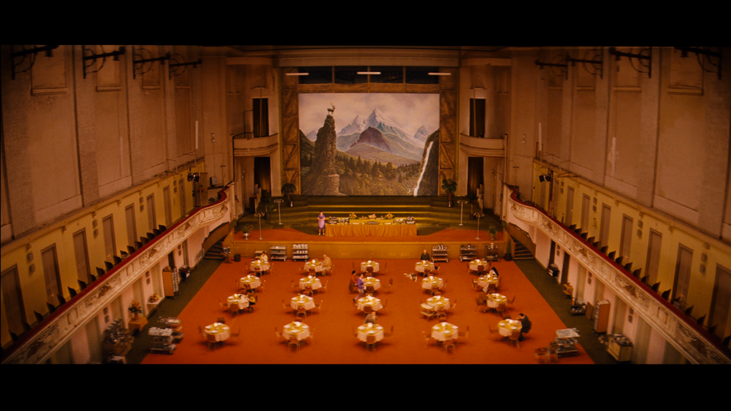 The Grand Budapest Hotel Ballroom Mural Canvas