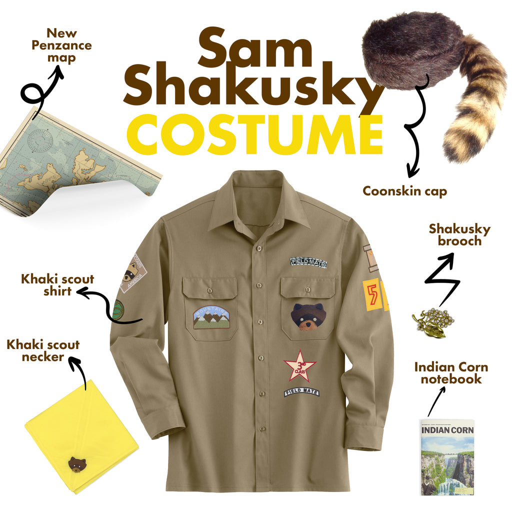 Sam Shakusky Costume Moonrise Kingdom