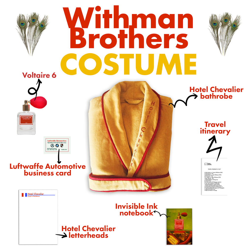 Whitman Brothers Costume The Darjeeling Limited
