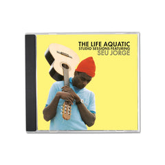 The Life Aquatic Studio Sessions Seu Jorge CD Wes Anderson