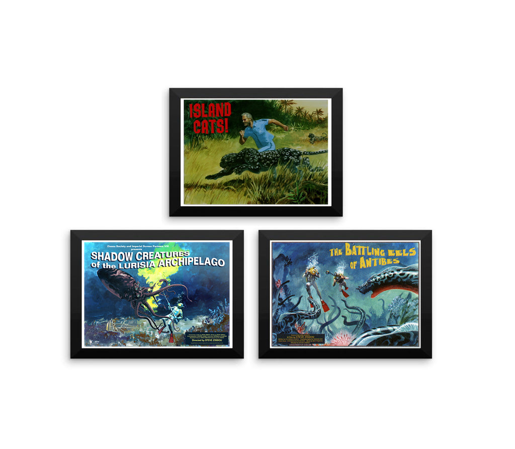 Life Aquatic With Steve Zissou Poster Set