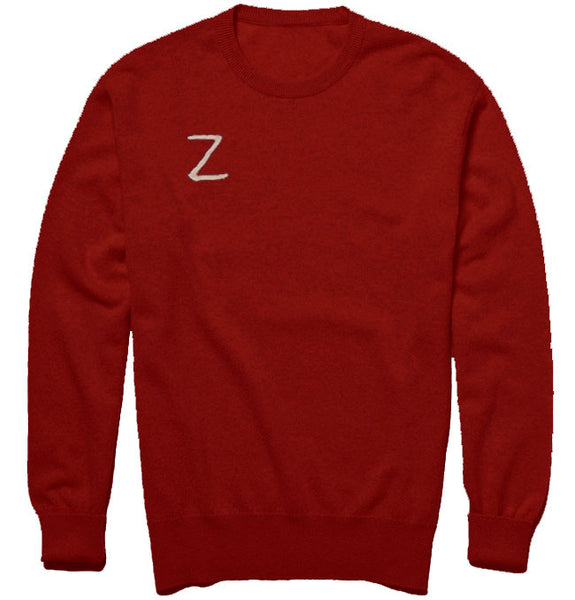 Team Zissou Sweater Red Crew Neck Jumper Unisex - Wes-Anderson.com  - 1