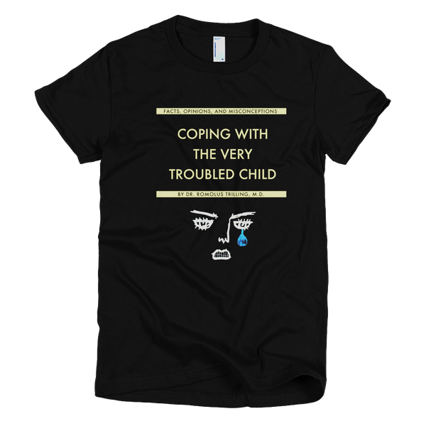 Coping With The Troubled Child Jersey Short Sleeve Women T-Shirt - Wes-Anderson.com