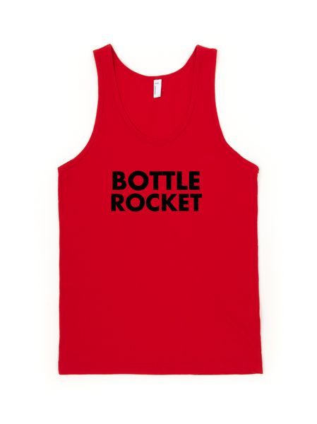 Bottle Rocket Jersey Tank Top Unisex - Wes-Anderson.com